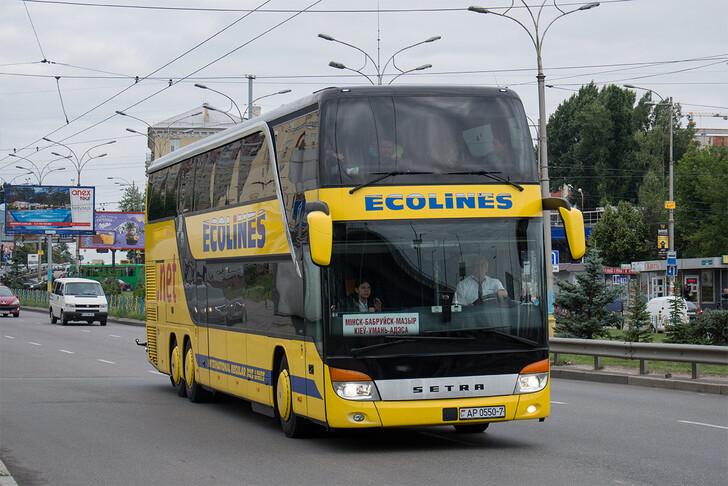 Автобус Минск — Киев