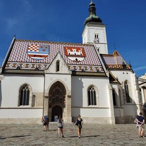 Собор Святого Марка в Загребе
