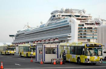 В Японии умер четвертый пассажир лайнера Diamond Princess