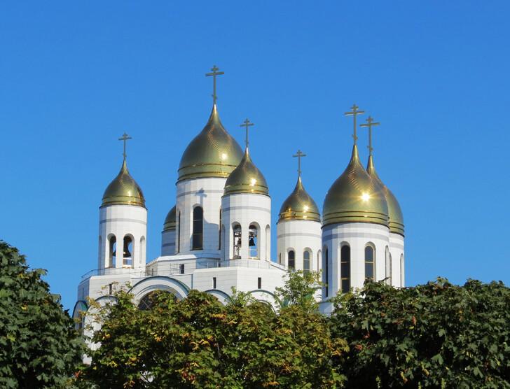 Кафедральный собор Христа Спасителя в Калининграде, сентябрь