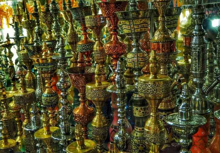 Кальяны из Египта