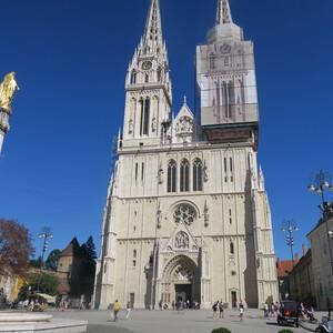 Кафедральный собор Загреба — шедевр средневековой готики