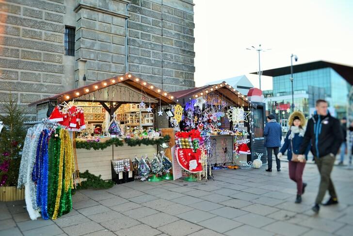 Рождественская ярмарка в Польше