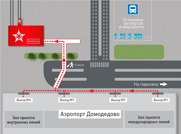 Как добраться из аэропорта Домодедово до центра, метро, вокзалов