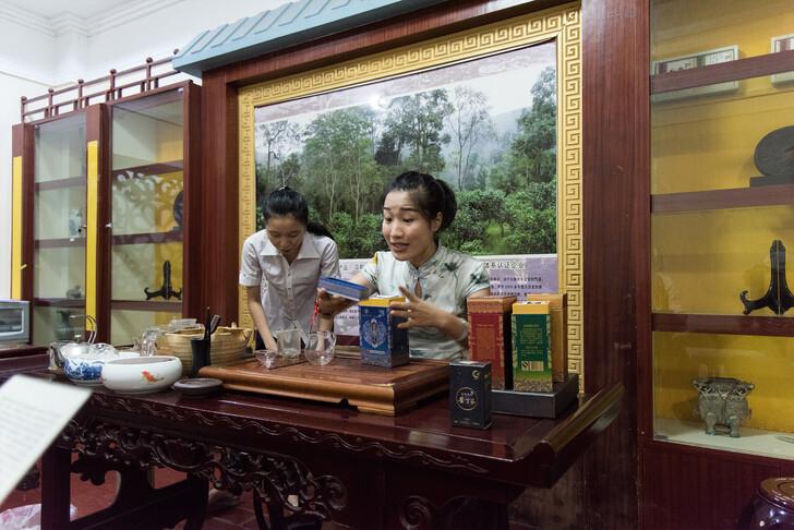 Магазин чая на Хайнане