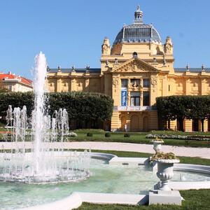 Музей (павильон) искусств в Загребе