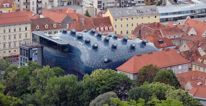 Музей современного искусства «Кунстхаус Грац»