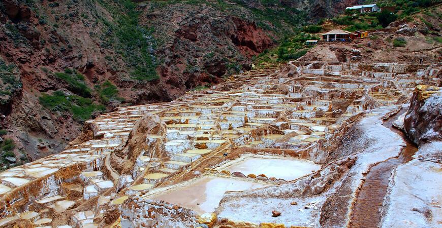 Соляные копи<br/> Салинас-де-Марас