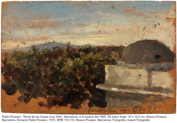 Работа Пабло Пикассо в барселонском музее