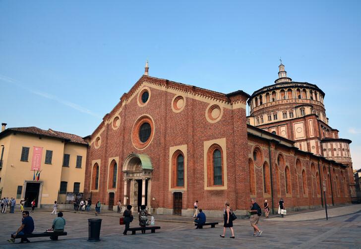 Церковь Santa Maria delle Grazie