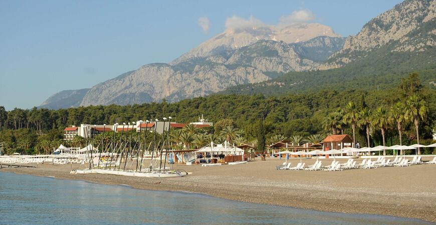 Пляж Club Med Palmiye