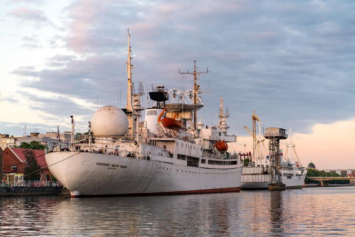 Музей Мирового океана, научно-исследовательское судно «Космонавт Виктор Пацаев»