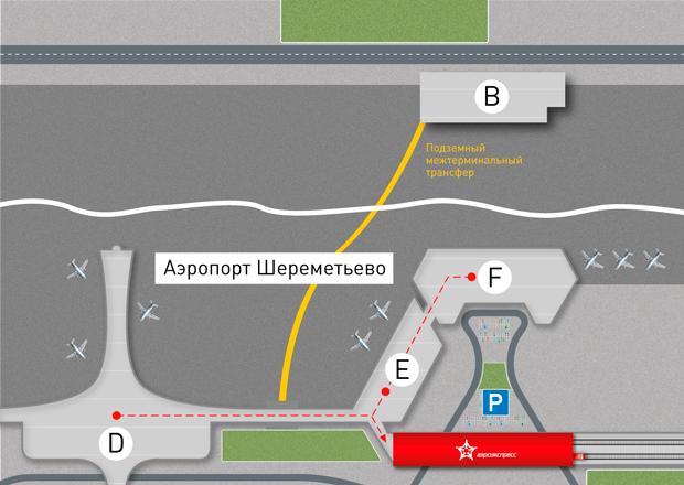 Как добраться из аэропорта Шереметьево до метро, центра, вокзалов