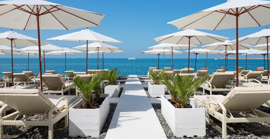 Пляж Del Mar в Сочи