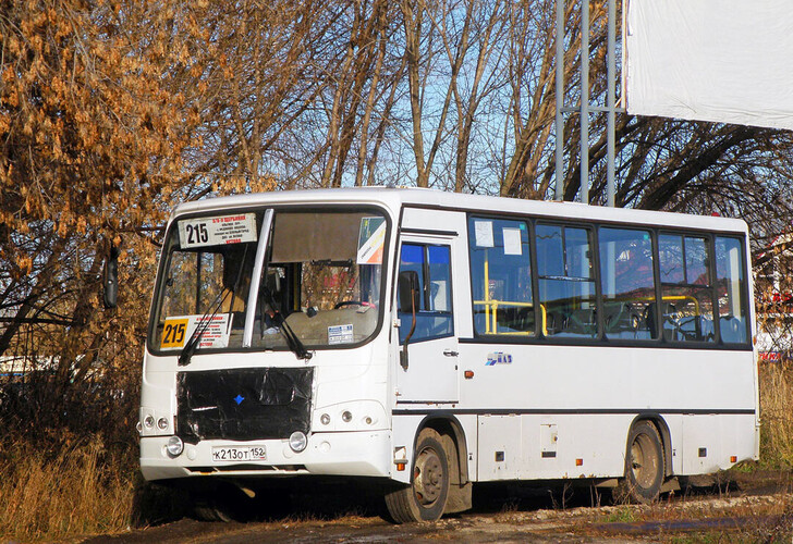 Автобус Нижний Новгород — Кстово