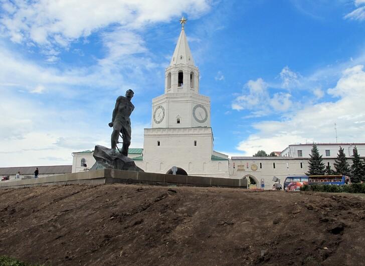 Вход в Кремль через Спасскую башню