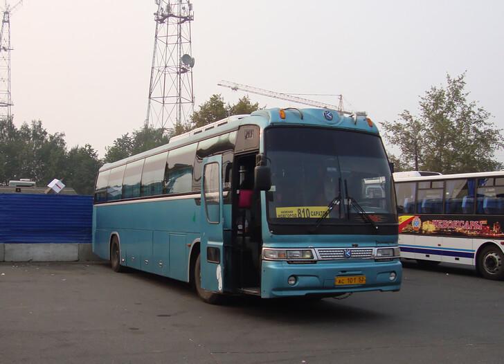 Автобус Нижний Новгород — Саратов