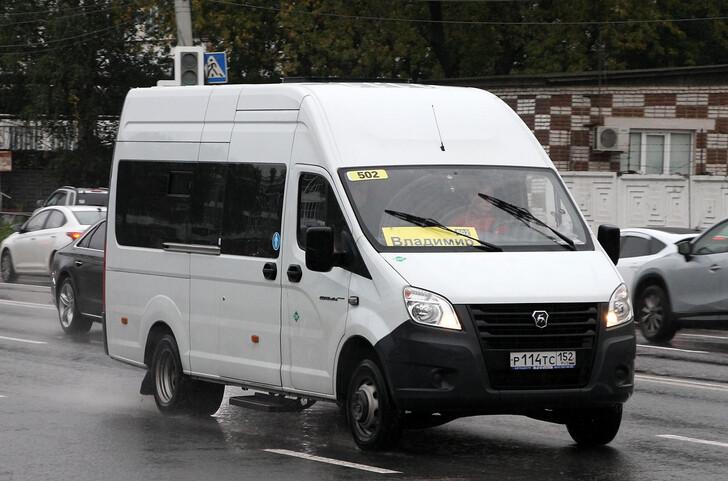 Автобус Владимир — Нижний Новгород