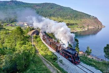 Кругобайкальская железная дорога вошла в число самых красивых маршрутов мира