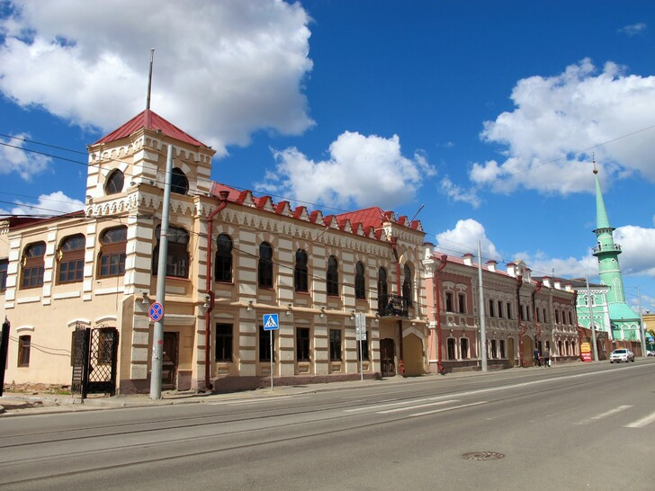 Улица Тукая в Старо-татарской слободе