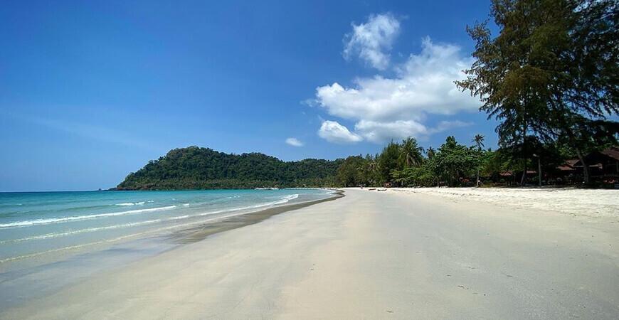 Пляж Ао Прао на о. Ко Куд