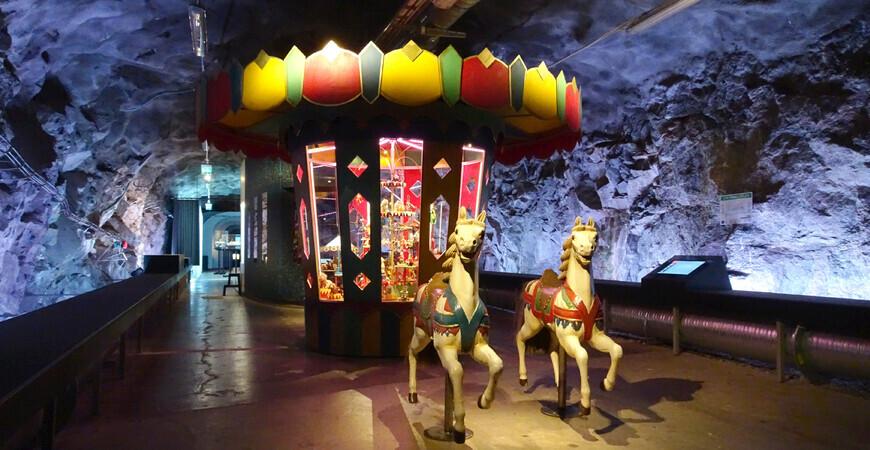 Музей игрушек и комиксов «Bergrummet»