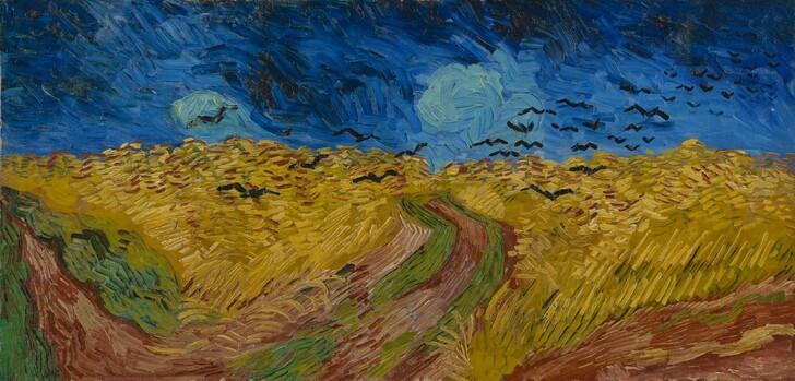 «Пшеничное поле с воронами»