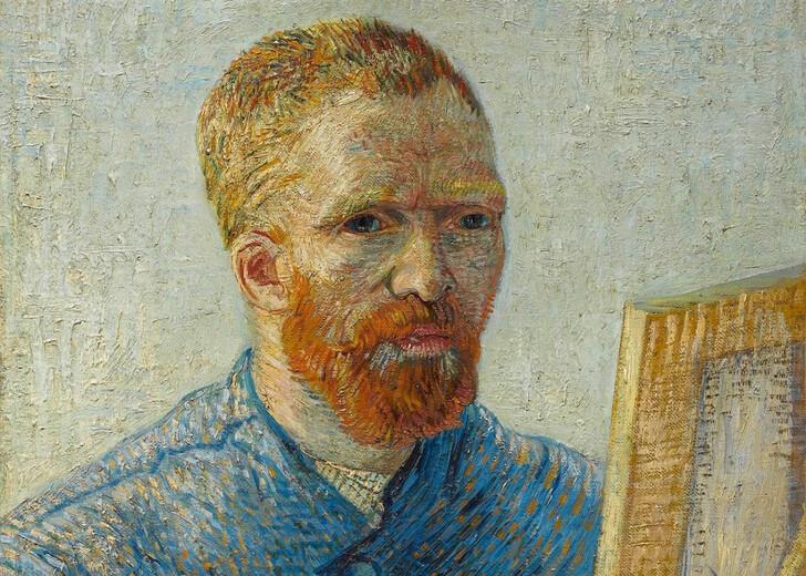 Автопортрет художника из коллекции музея