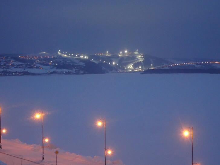Вид на комплекс «Свияжские холмы»