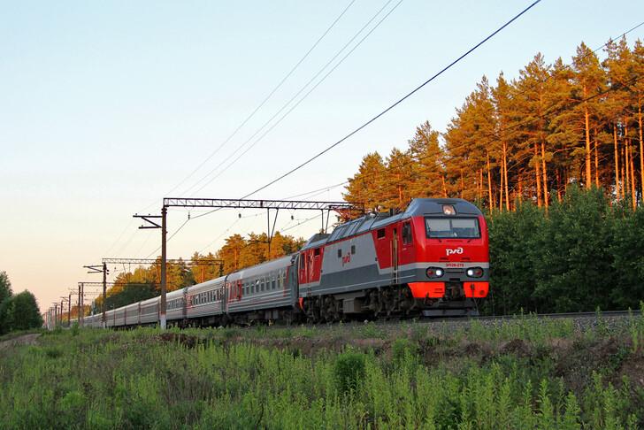 Поезд Кисловодск — Симферополь