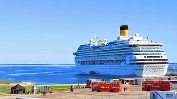 Эстония закрывает порты для круизных судов до 1 мая