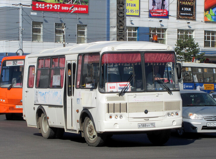 Автобус Нижний Новгород — Чкаловск