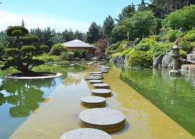 Праздник для глаз и души. Японский сад в Партените