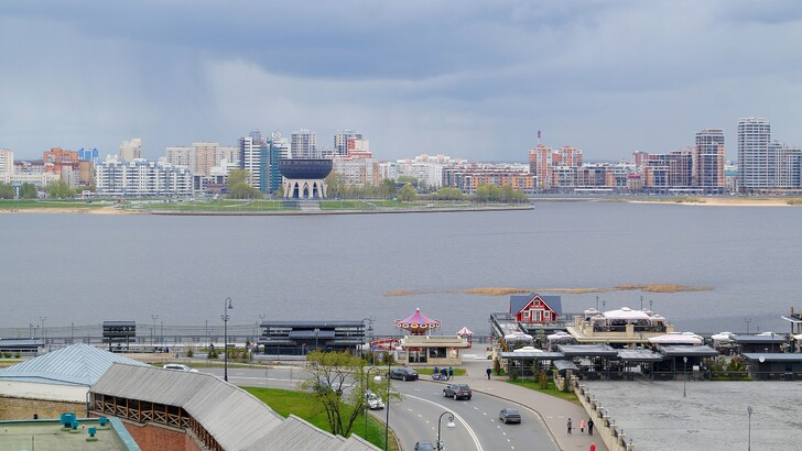Вид на центр семьи «Казан»