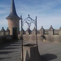 замок в Сеговии Великолепно