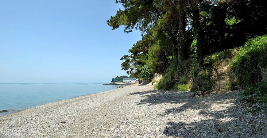 Пляж Уч-Дере