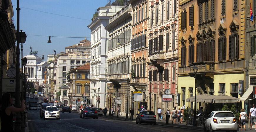 Улица Национале (Via Nazionale)