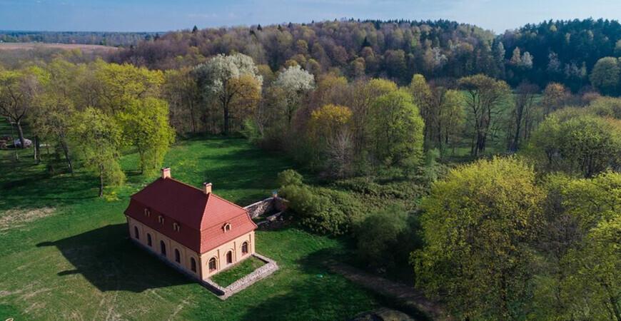 Мельница-музей и усадьба<br/> в поместье Любавас
