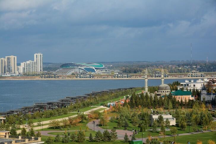 Вид на город с Кремлевских стен