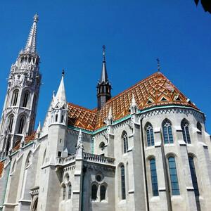 Средневековый собор Св. Матьяша в Буде