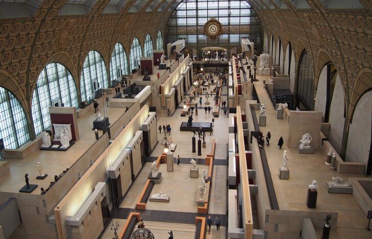 Как купить билет в музей Орсе
