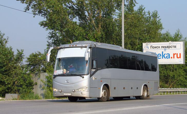 Автобус Новосибирск — Новокузнецк