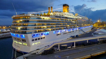 Costa Cruises продлила приостановку круизов до конца апреля