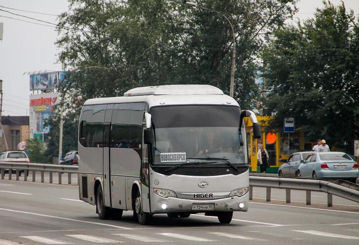 Автобус Новосибирск — Бийск