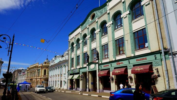 Здание банковского комплекса Рукавишникова