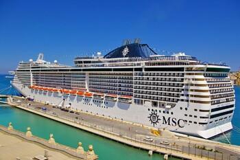 В Италии круизная компания MSC переоборудовала лайнер в плавучий госпиталь