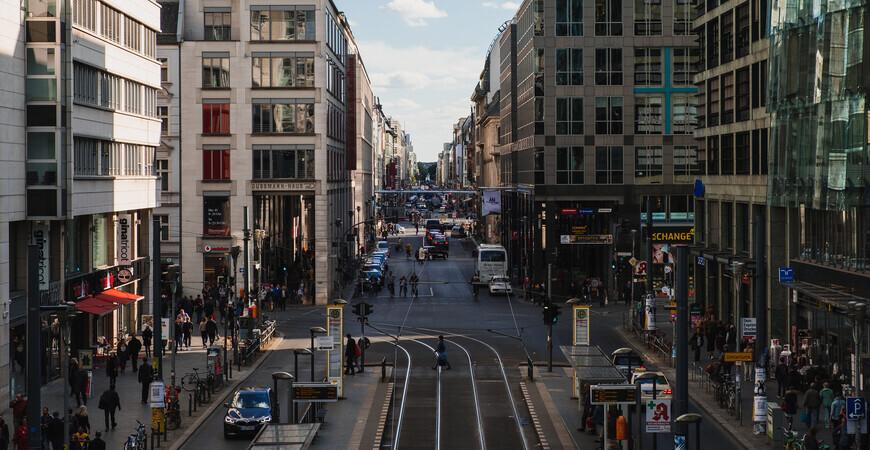 Фридрихштрассе в Берлине