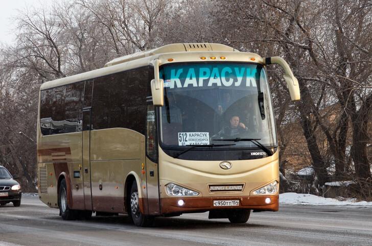 Автобус Новосибирск — Карасук