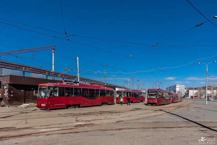 Трамвай № 1