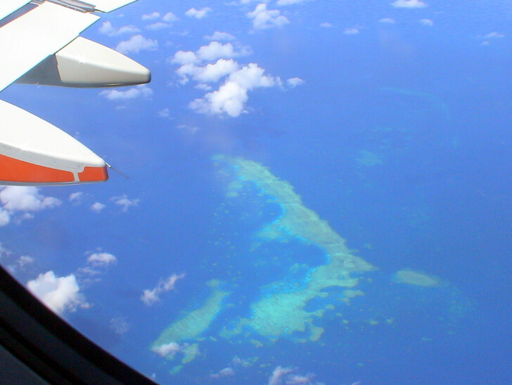 Виды Индийского океана по пути в Австралию